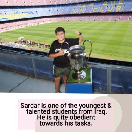 Sardar- Online student of Guru at home