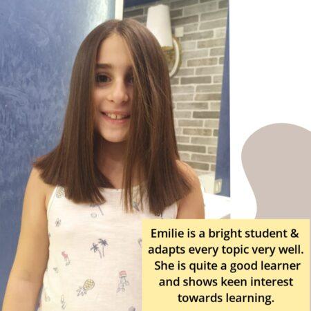 Emilie- online student of guruathome