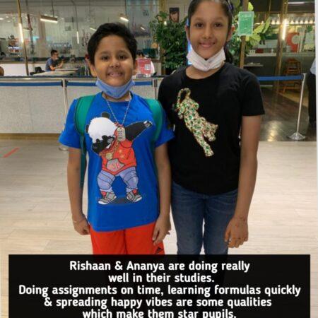 Online students- Guru at home